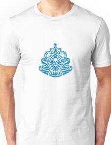 Zodiac Sign Aquarius Blue Unisex T-Shirt