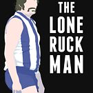 The Lone Ruckman - blue and white by theloneruckman