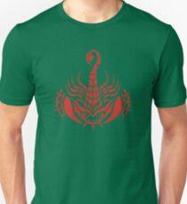 Zodiac Sign Scorpio Red Unisex T-Shirt