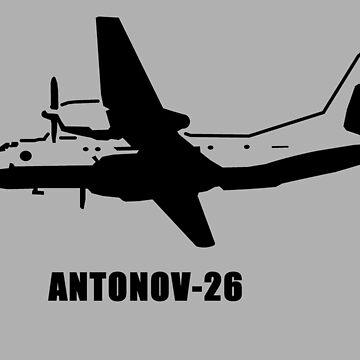 Antonov 26 by sibosssr