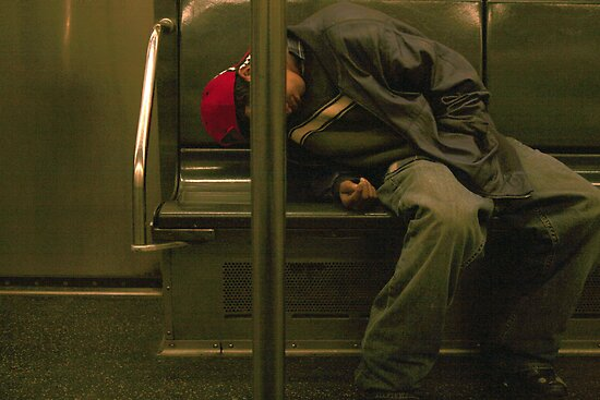 SUBWAY 1416 (New York) by Mart Delvalle