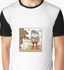 Hilda Sparrow Scout Graphic T-Shirt