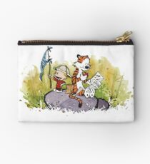 Exploring Calvin and Hobbes Studio Pouch