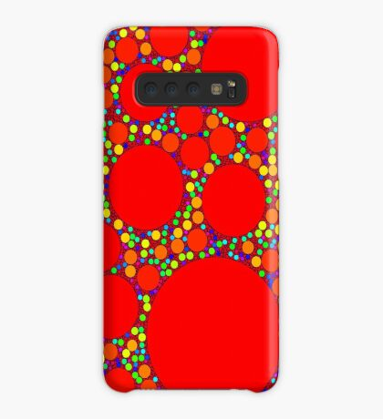 Random Tiling Red Case/Skin for Samsung Galaxy