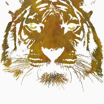 Le Tigre (Dark Shirt) by 220clothing