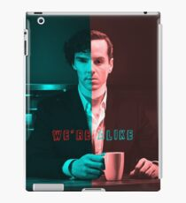 We're Just Alike iPad Case/Skin