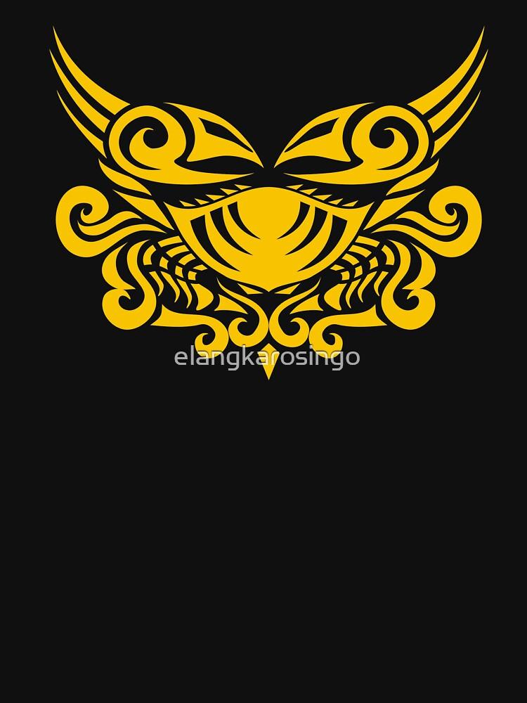 Zodiac Sign Cancer Gold by elangkarosingo