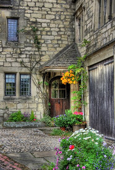 """""""Picture Perfect Cottage"""" by Bradley Shawn  Rabon"""