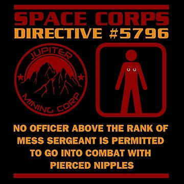 JMC Space Corps Directive #5796 Pierced Nipples by McPod