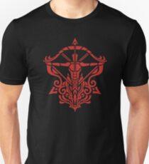 Zodiac Sign Sagitarius Red T-Shirt