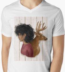 PRONGS Men's V-Neck T-Shirt