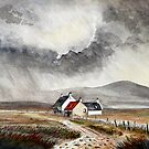 Red Roof Cottage, Dartmoor.  by Woodie