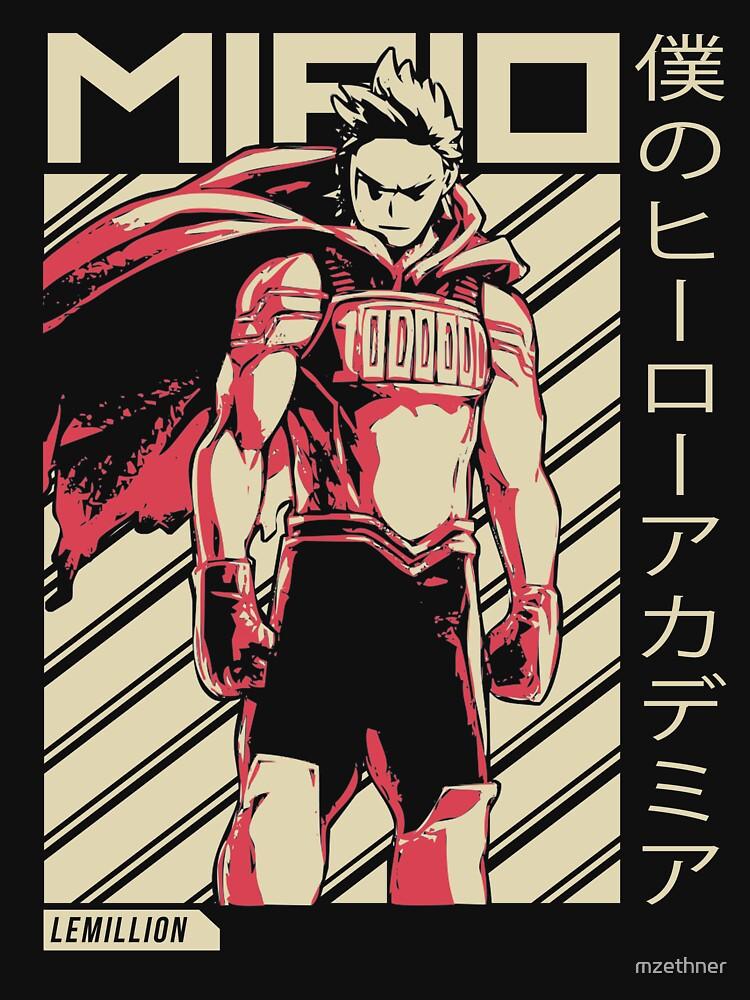 Mirio Togata - Lemillion | My Hero Academia Anime by mzethner
