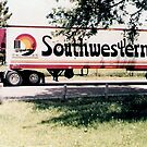 1984 Ford CL9000 with a 48' Reefer Trailer by Gary Paakkonen