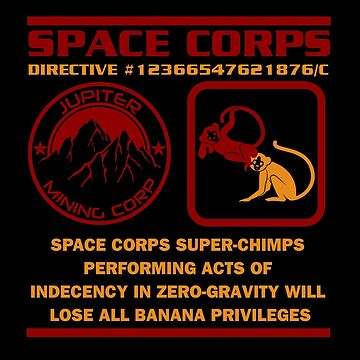 JMC Space Corps Directive #1236 Banana Privileges by McPod