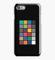 Colour chart iPhone Case/Skin