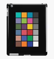 Colour chart iPad Case/Skin