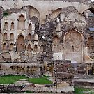 RUINS AT GOLKONDA FORT, HYDERABAD by RakeshSyal