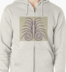 Searching Spiral Zipped Hoodie