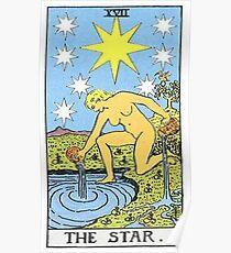 Das Stern Tarot Poster