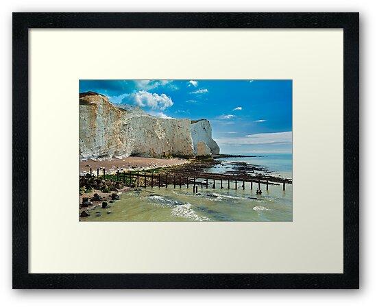Seaford Cliffs by DonDavisUK