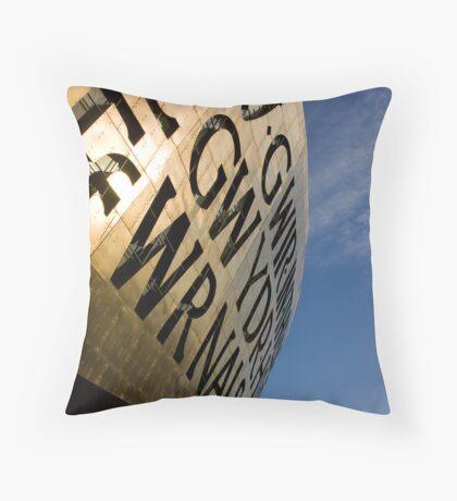 The Wales Millennium Centre Throw Pillow