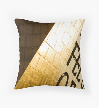 The Wales Millennium Centre 2 Throw Pillow