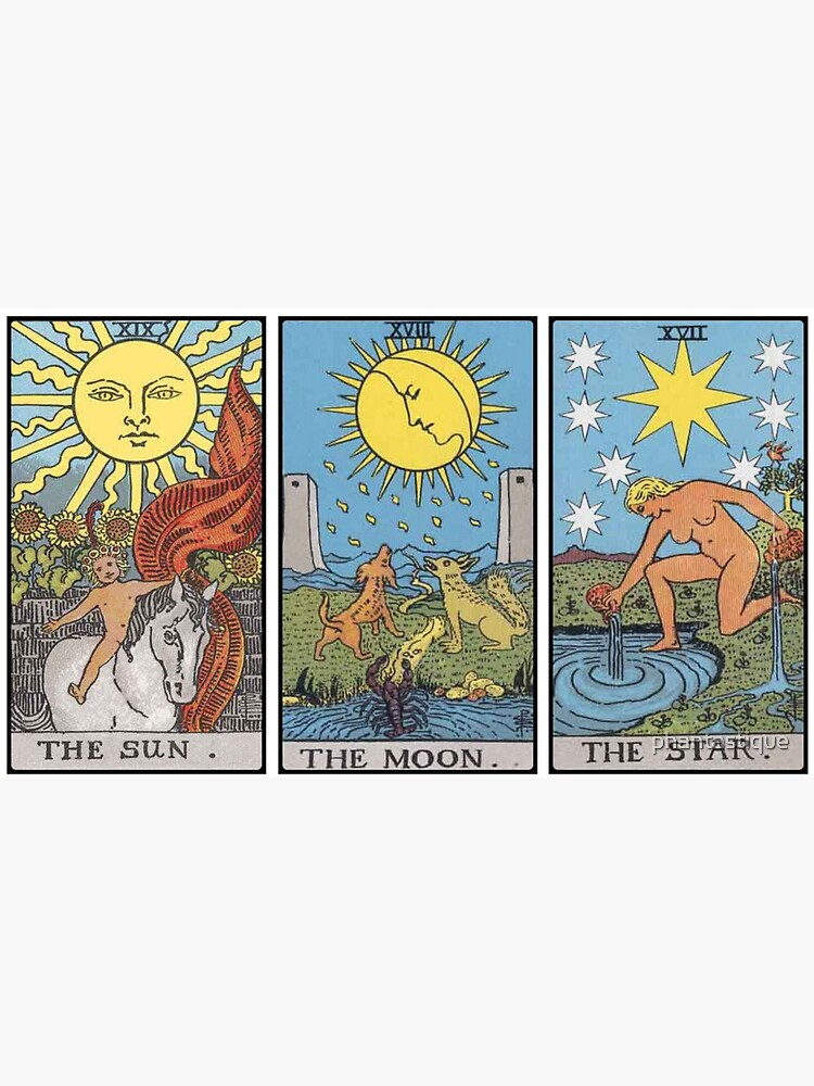 Sun Moon Star Tarot de phantastique
