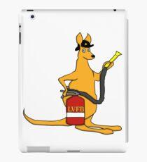 Fire Fighting Kangaroo iPad Case/Skin