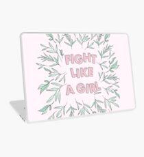 Fight Like A Girl Laptop Skin