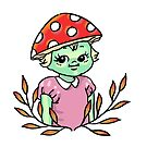 mushroom girl by sarabea