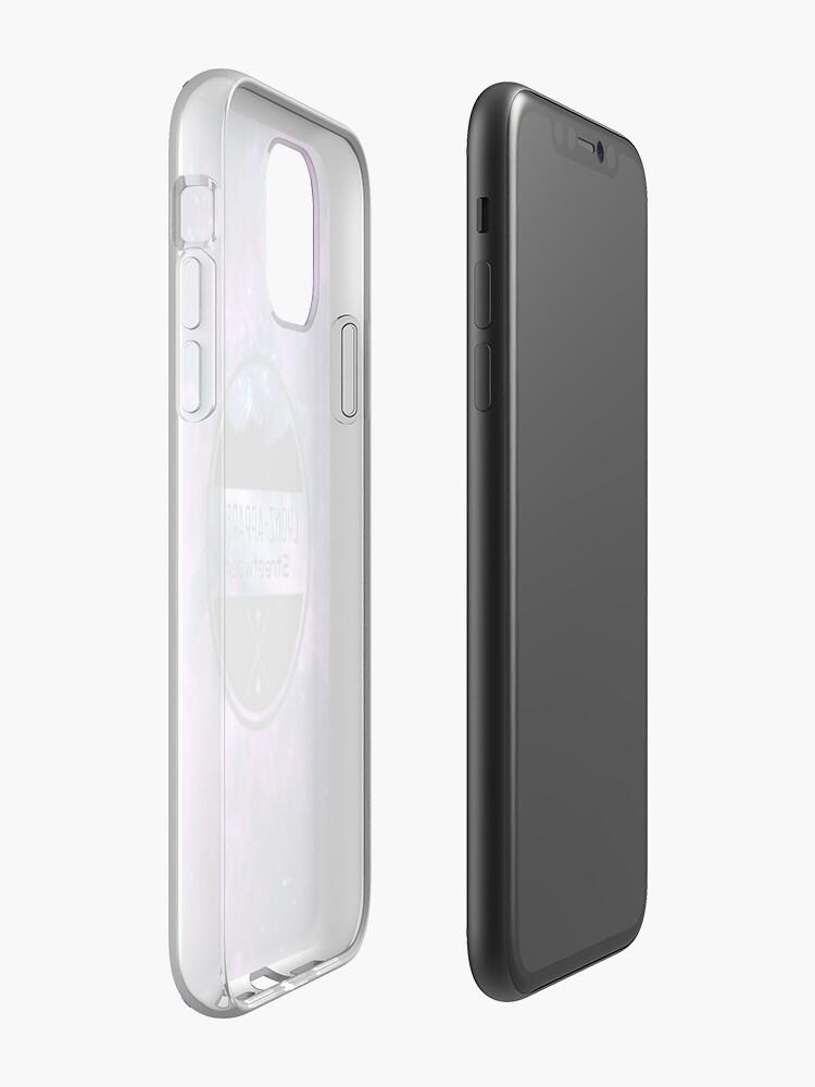coque iphone se foot , Coque iPhone «Ciel de galaxie», par Khutxo