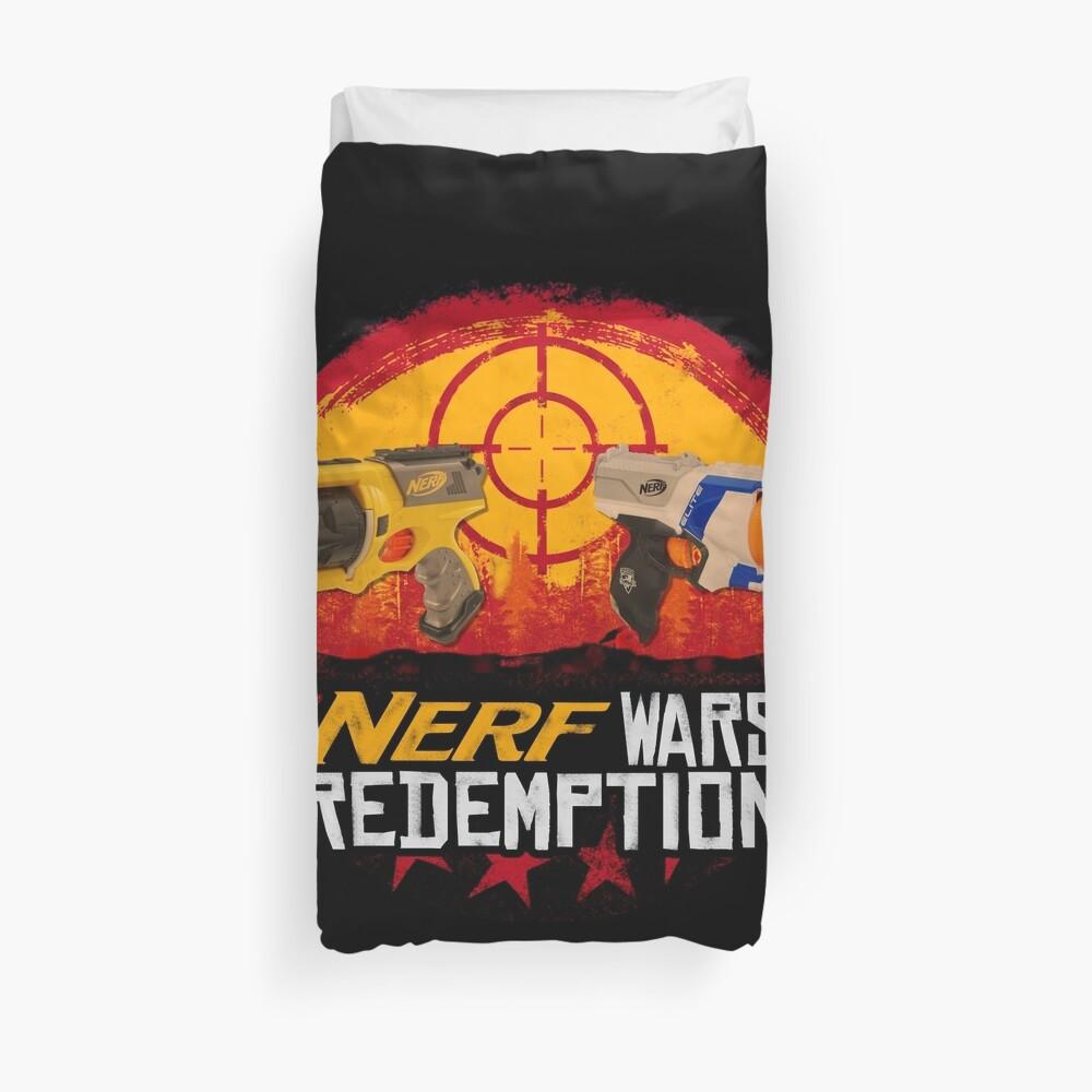 Nerf Wars-Erlösung Bettbezug