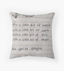 xxxtentacion Throw Pillow