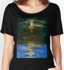Night Sky at Sea Women's Relaxed Fit T-Shirt