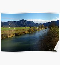 Bavarian Countryside Poster