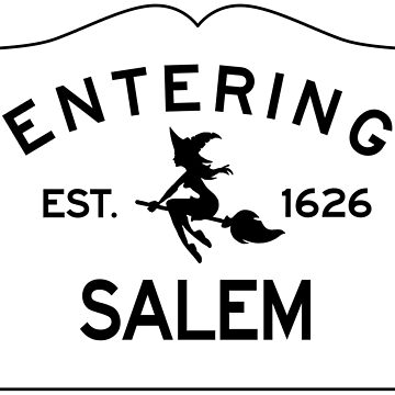 Entering Salem Massachusetts - Commonwealth of Massachusetts Sign - The City of Witches by NewNomads