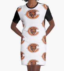 Chicago Football Graphic T-Shirt Dress