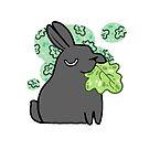 Munching Bun - Mood Bunnies by baretreemedia