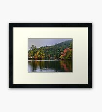 New York's Adirondack region III Framed Print