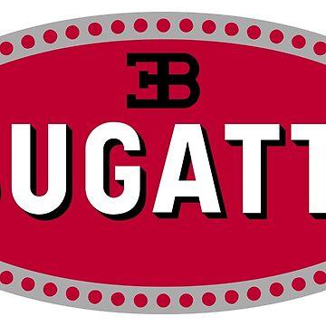 Bugatti Sticker by roccoyou
