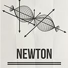 NEWTON - Mathematicians Collection by Hydrogene