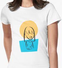 Good luck girl Women's Fitted T-Shirt