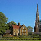 Braunston Manor and Church by SimplyScene