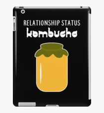Kombucha Tea Drinkers Fermented Drink iPad Case/Skin