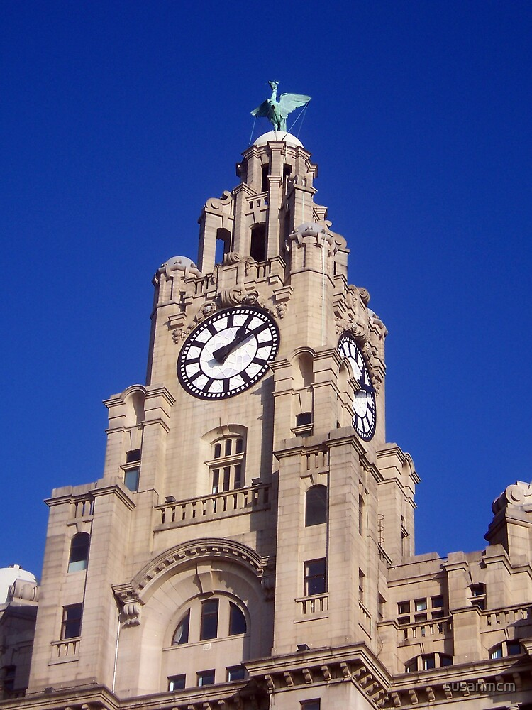 Liver Building Liverpool by susanmcm