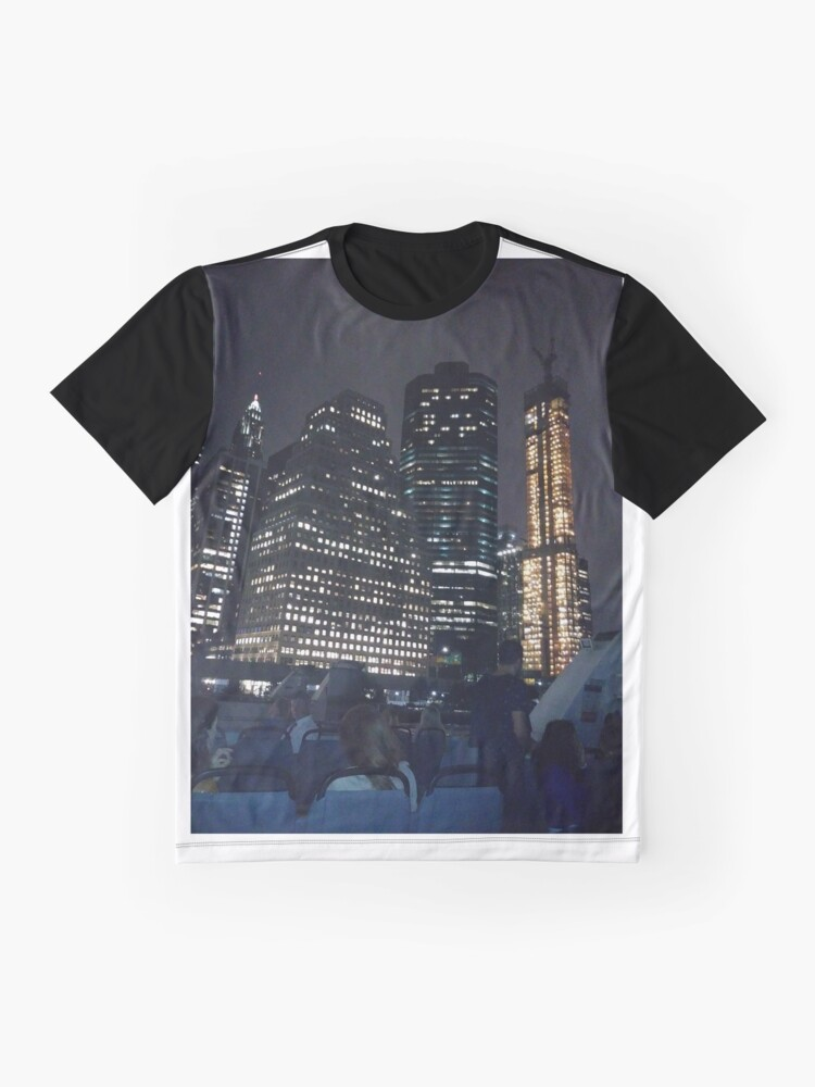 Alternate view of #skyscraper #city #architecture #business #cityscape #tallest #office #finance #dusk #tower #modern #sky #outdoors #horizontal # #colorimage #copyspace #builtstructure #downtowndistrict #urbanskyline  Graphic T-Shirt