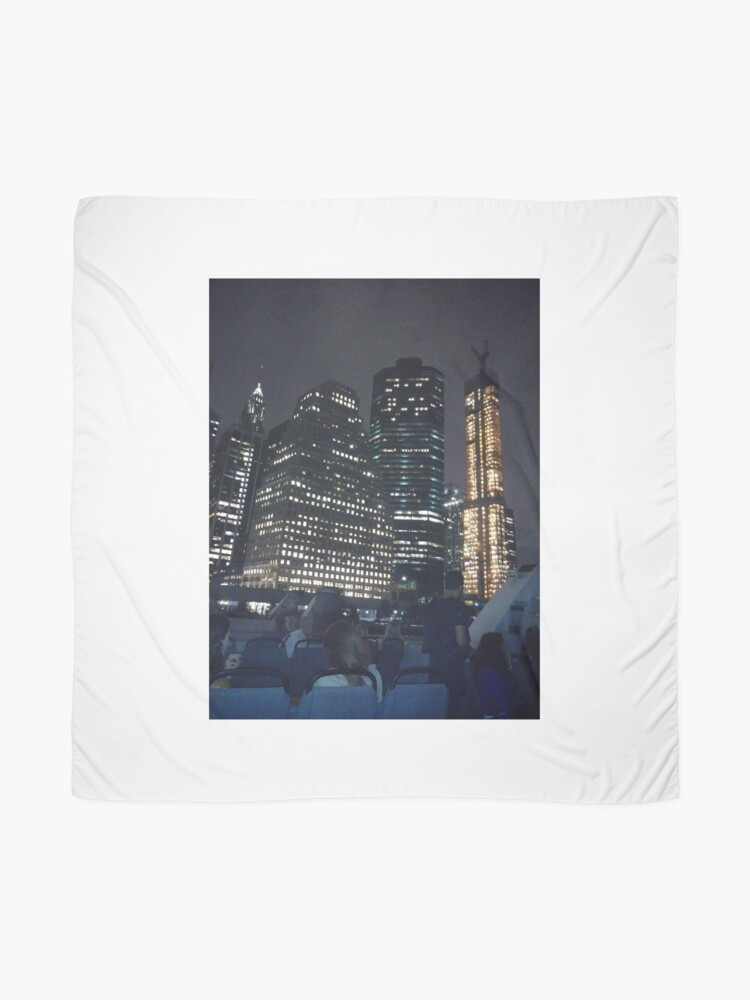 Alternate view of #skyscraper #city #architecture #business #cityscape #tallest #office #finance #dusk #tower #modern #sky #outdoors #horizontal # #colorimage #copyspace #builtstructure #downtowndistrict #urbanskyline  Scarf