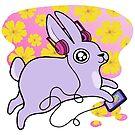 Pink Bun- Mood Bunnies by baretreemedia