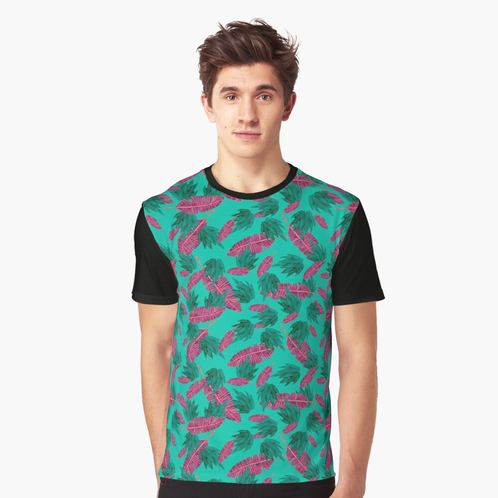 tropic  Graphic T-Shirt Front